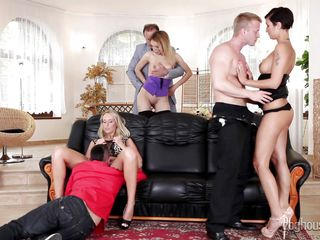 Порно бесплатно домашние свингеры