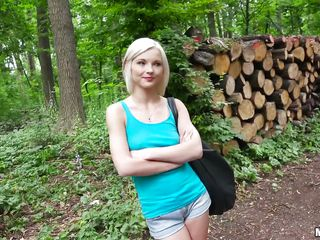 Красивый секс в лесу