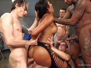 Жесткий секс группа